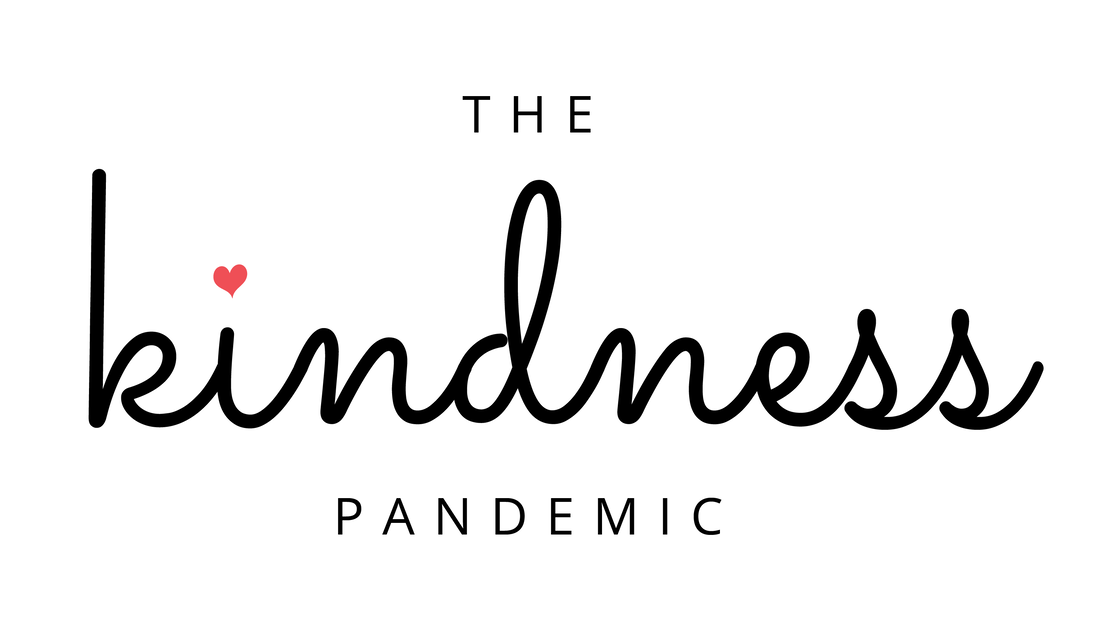 Text -  The Kindness Pandemic